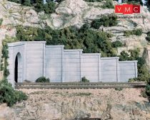 Woodland Scenics C1158 N Concrete Retaining Wall Concrete (x6)
