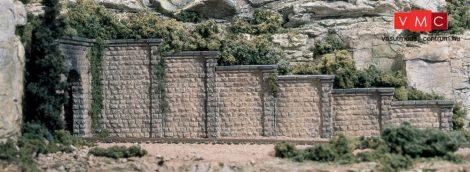 Woodland Scenics C1159 N Cut Stone Retaining Wall Concrete (x6)