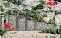 Woodland Scenics C1161 N Random Stone Retaining Wall Concrete (x6)