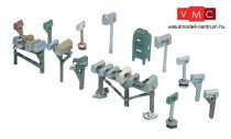 Woodland Scenics D206 Assorted Mailboxes