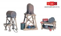 Woodland Scenics D212 3 Fuel Stands