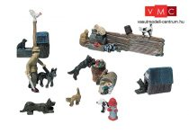 Woodland Scenics D226 Cats & Dogs