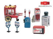 Woodland Scenics D230 8 Vending Machines