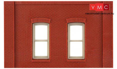 Woodland Scenics DPM30130 Single Storey Rectangular Window Wall (x4)