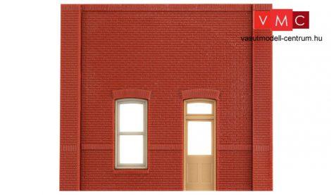 Woodland Scenics DPM30131 Street Level Rectangular Entry Door Wall (x4)