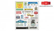 Woodland Scenics DT552 Assorted Business Signs
