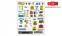 Woodland Scenics DT554 Product & Advertising Signs