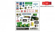 Woodland Scenics DT556 Assorted Logos & Advertising Signs