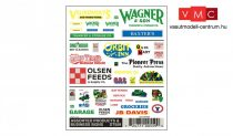 Woodland Scenics DT559 Business Signs