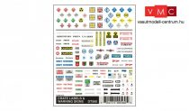 Woodland Scenics DT560 Crate Labels & Warning Signs