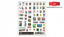 Woodland Scenics DT563 1940's Signs & Posters