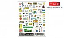 Woodland Scenics DT570 Mini-Series Product Logos