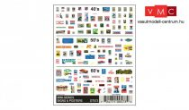 Woodland Scenics DT573 Mini-Series Signs & Posters