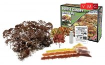 Woodland Scenics F1663 Autumn Mix Forest Canopy