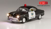 Woodland Scenics JP5593 HO Police Car