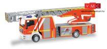 Herpa 093064 MAN TGM Metz 32 XS létrás tűzoltó, Feuerwehr Göppingen (H0)