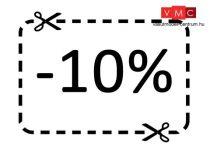 10% hűségpont kedvezmény