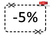 5% hűségpont kedvezmény